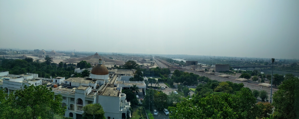 A view of Taj Lucknow from Renaissance Lucknow